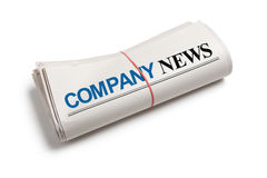 company-news-newspaper-roll-white-background-36402615